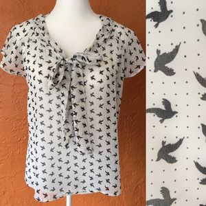 Lily Star Crow Raven Shirt